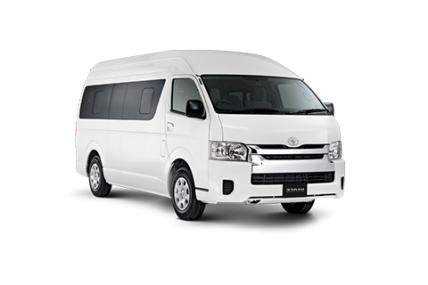 Cabo Transportation in Toyota Hiace